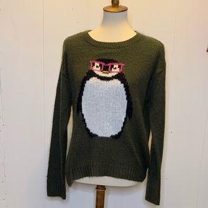 Size xl rewind cute penguin sweater
